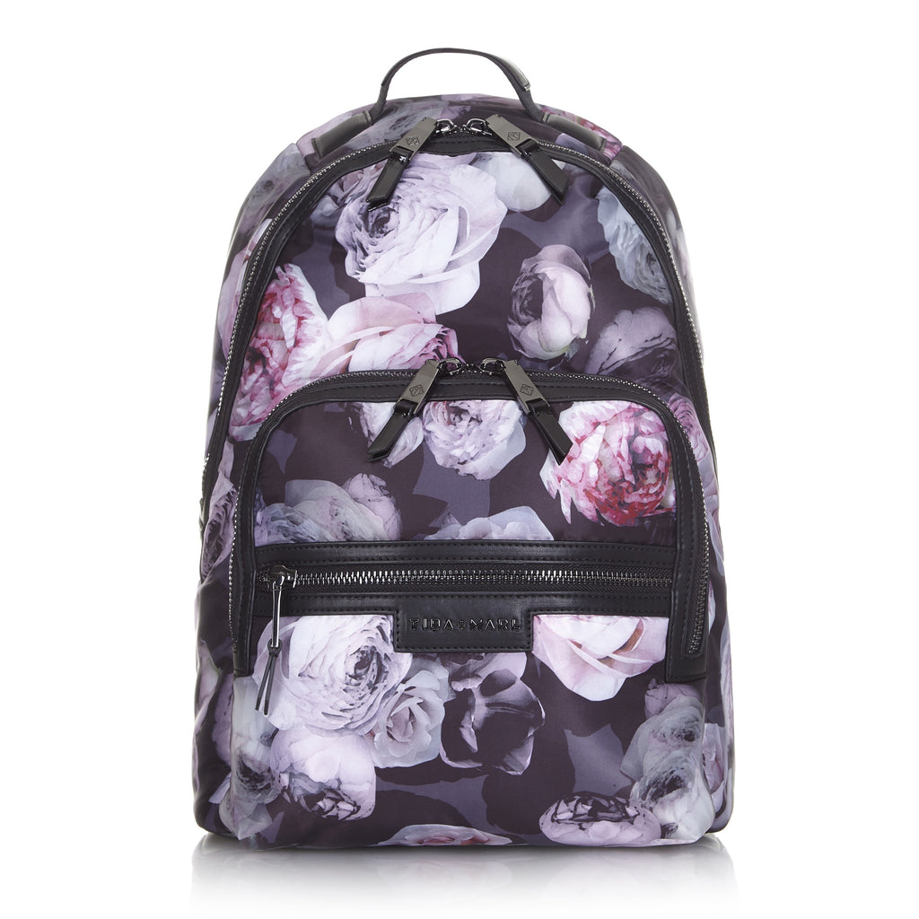 Original Tiba+Marl Elwood Floral Backpack My Baby Edit Front