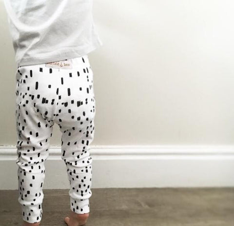 Original Buffalo & Bear Monochrome Leggings My Baby Edit