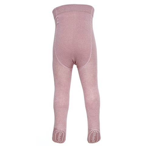 Original GoBabyGo crawling tights Dusty Rose Back MyBabyEdit