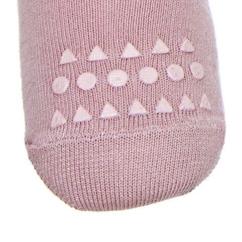 Original GoBabyGo crawling tights Dusty Rose Foot MyBabyEdit