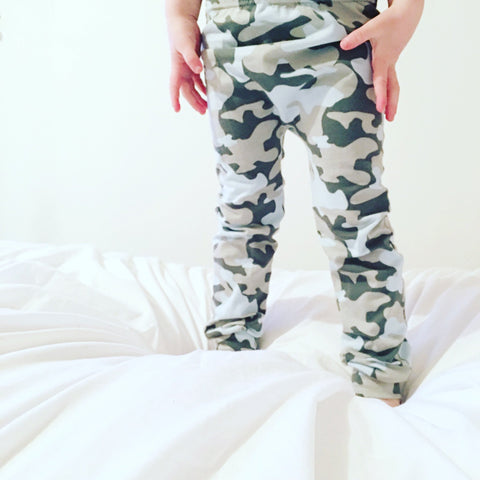 Fred and Noah Camouflage Leggings