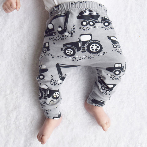 Fred and Noah Tractor Leggings