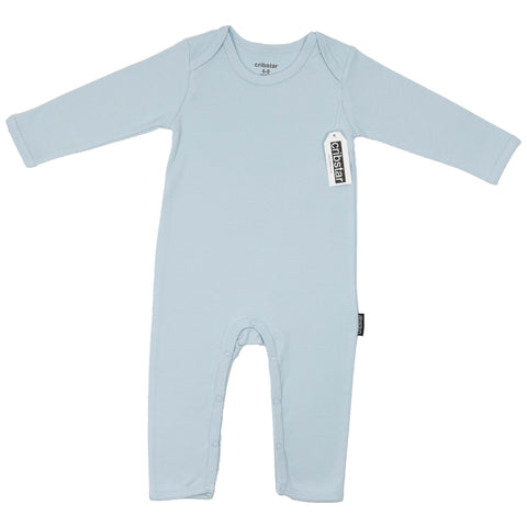 Ice Blue Baby Romper
