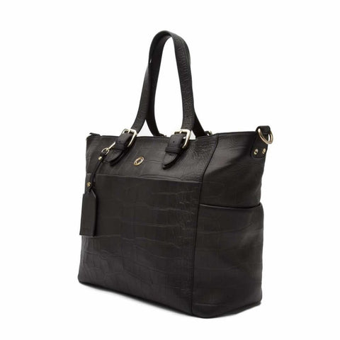 Original Kerikit Real Leather Francis Changing Bag Side  My Baby Edit