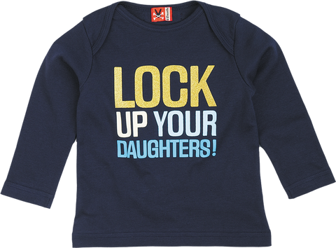 Long Sleeve Tee - Lock up your Daughters