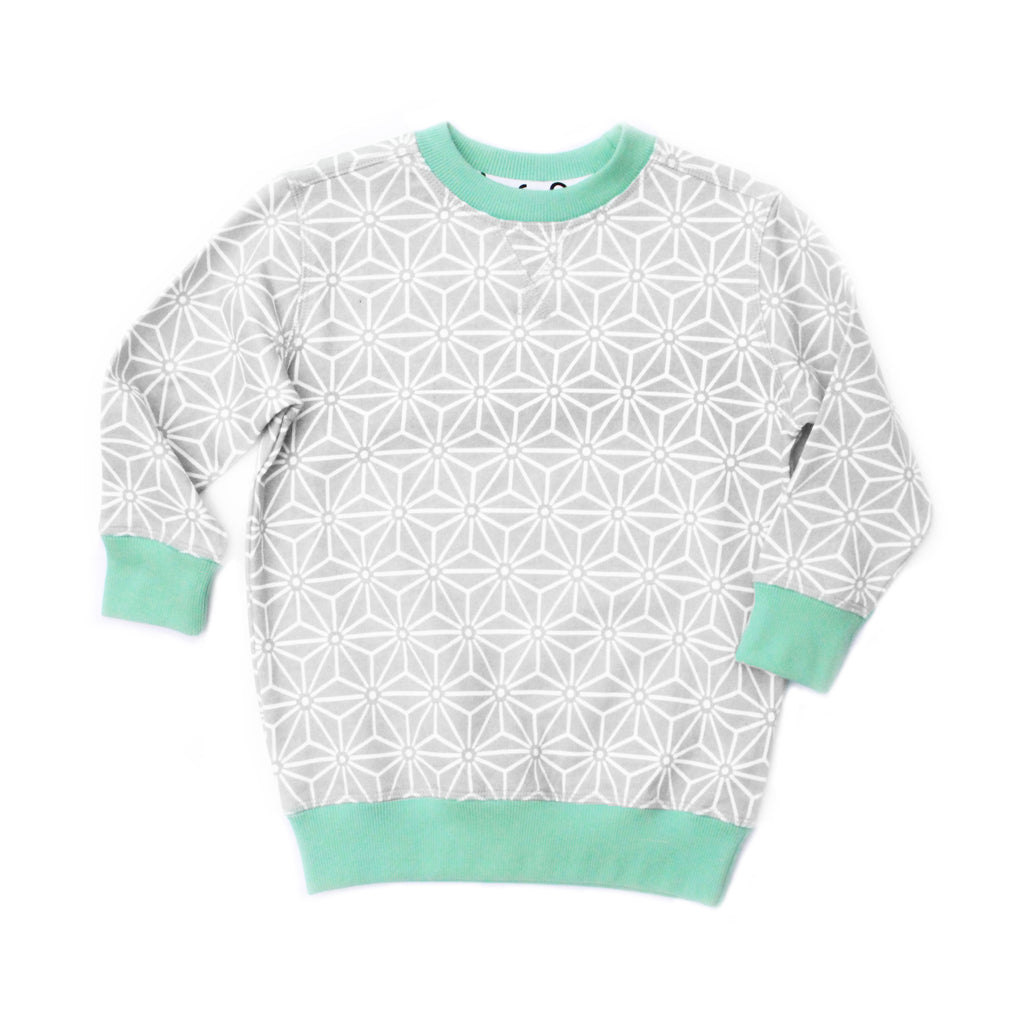 Original Lennie & Co. Fyfe Dove Sweatshirt MyBabyEdit