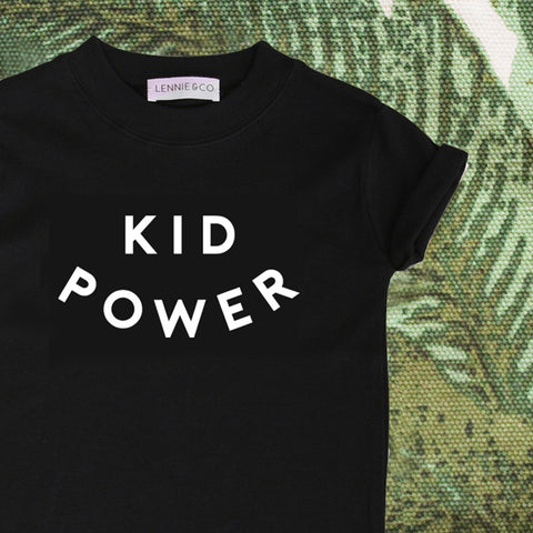 Original Lennie & Co. Kids Power T-Shirt MyBabyEdit