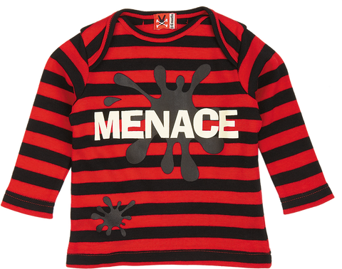 Long Sleeve Tee - Menace