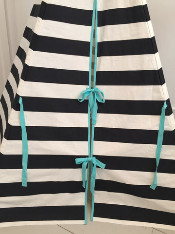 Original Wildfire Teepee Stripe Seafoam Trim Close Up MyBabyEdit