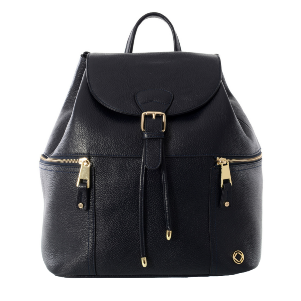 Original Kerikit Real Leather Thor Navy Backpack My Baby Edit