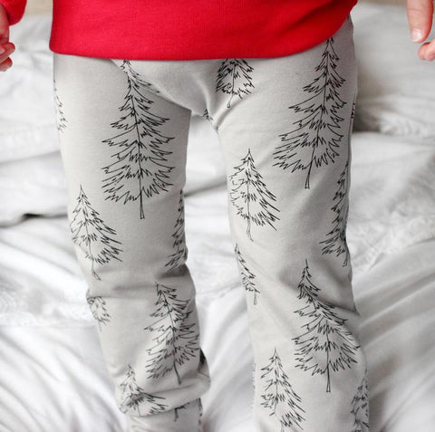 Fred and Noah Xmas Tree Leggings