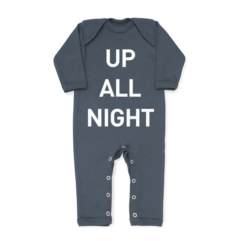 Up All Night Baby Grow - Cool
