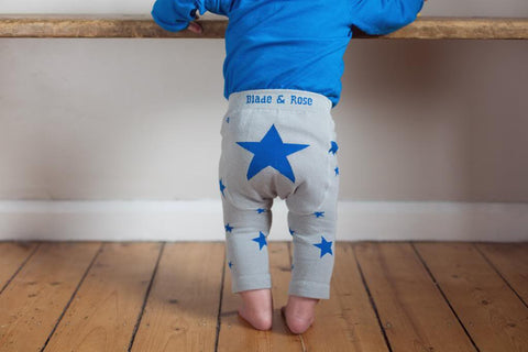 Original Blade & Rose Blue Star leggings Lifestyle MyBabyEdit