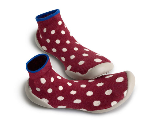 Original Collegien Indoor Slippers Ligne Dots Close Up My Baby Edit