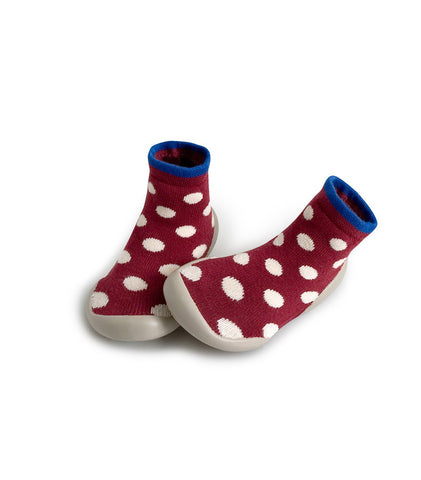 Original Collegien Indoor Slippers Ligne Dots My Baby Edit