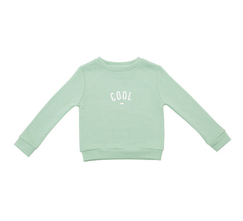 Long Sleeve Sweatshirt - COOL Mint