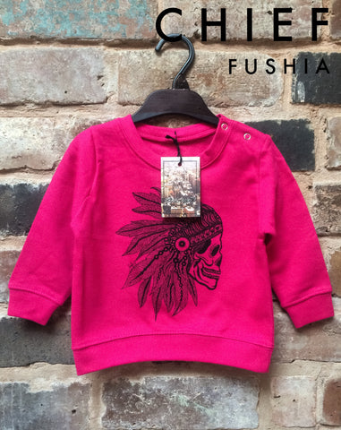 Chief Sweatshirt - Fushia