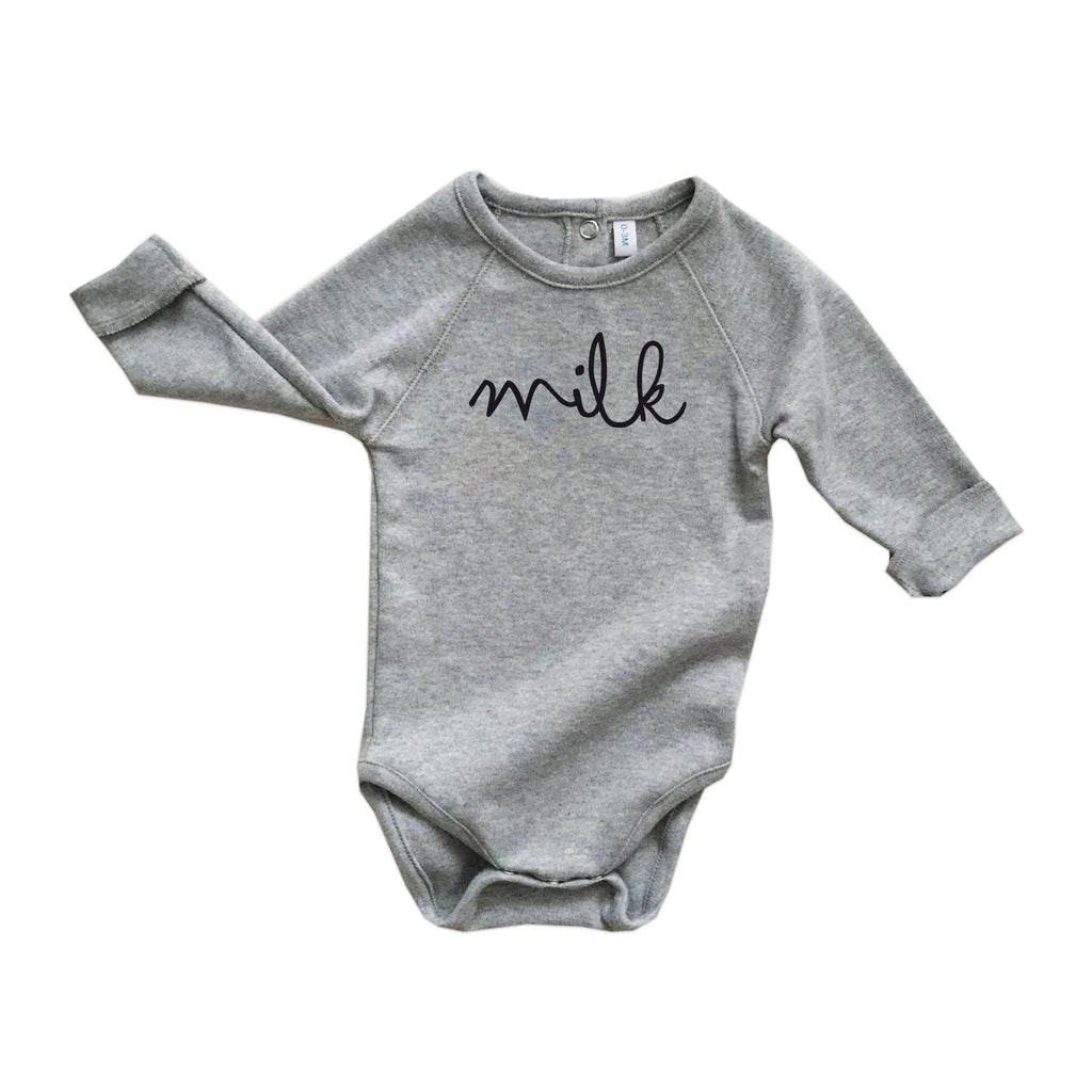 Grey MILK Long Sleeve Body