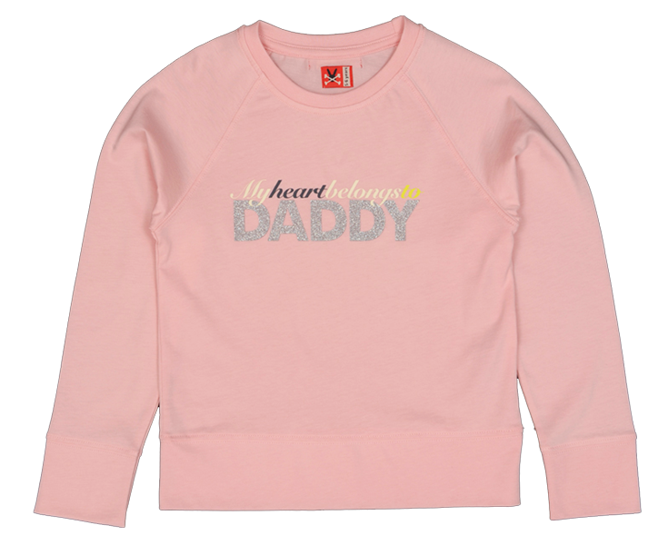Original No Added Sugar Tee My Heart Belongs to Daddy My Baby Edit
