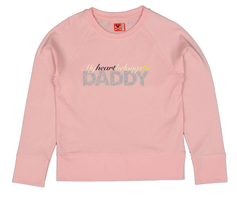 Long Sleeve Tee - My Heart Belongs to Daddy
