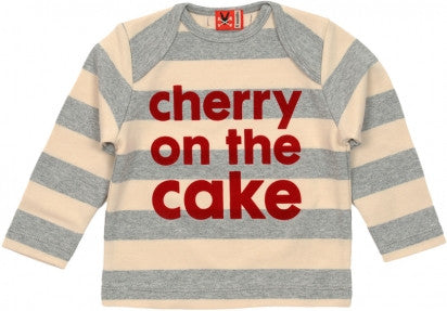 Long Sleeve Tee - Cherry on the Cake