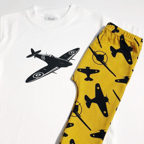 Fred and Noah Plane Leggings