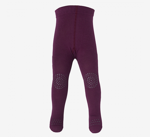 Plum Crawling Tights