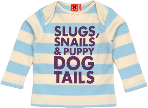 Long Sleeve Tee - Slugs & Snails