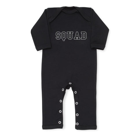 Squad Baby Grow - Black