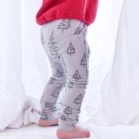 Fred and Noah Christmas Tree Leggings