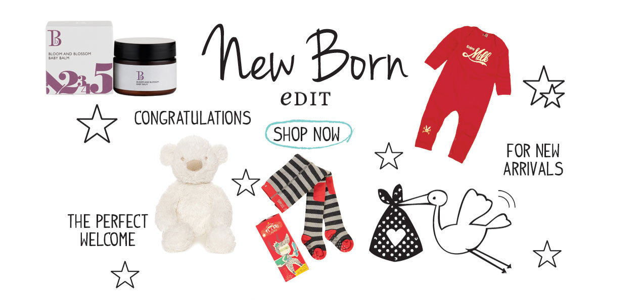 Shop the New Born Edit