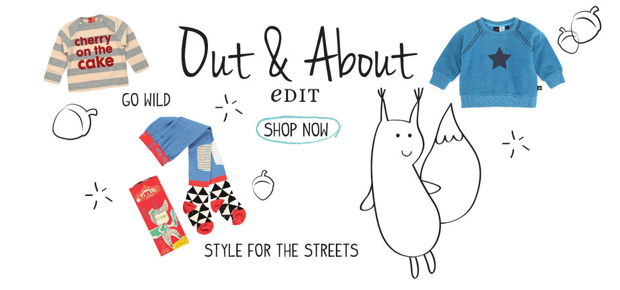 Shop our Out & About Edit
