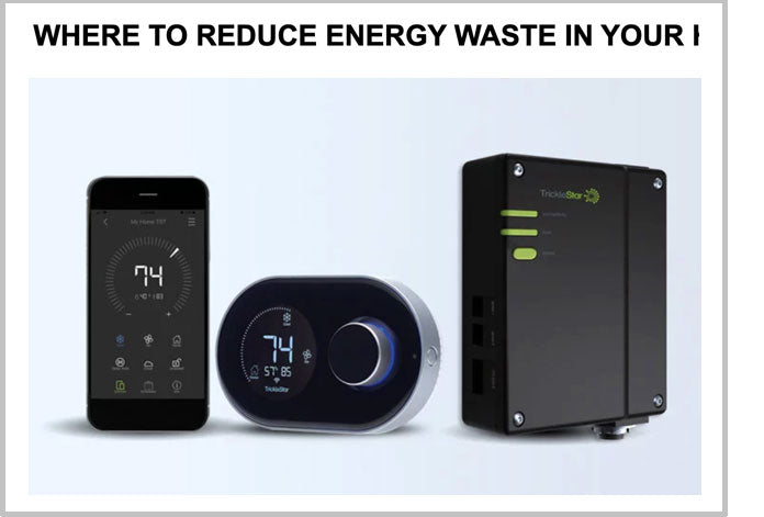 Where to reduce energy waste in your home?