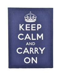 Home of Temptations http://www.hotdesign.co.nz Wall Art Canvas Keep Calm And Carry On