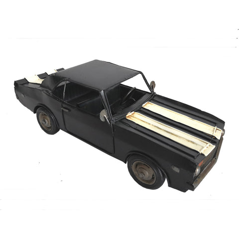 Black Chevrolet Camaro Vintage Ornament - Perfect Gift!