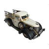 Cream Pick Up Truck Vintage Ornament With Flat Deck - Perfect Gift!