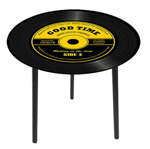 Nostalgic Old Style Record Alcove / Side Table