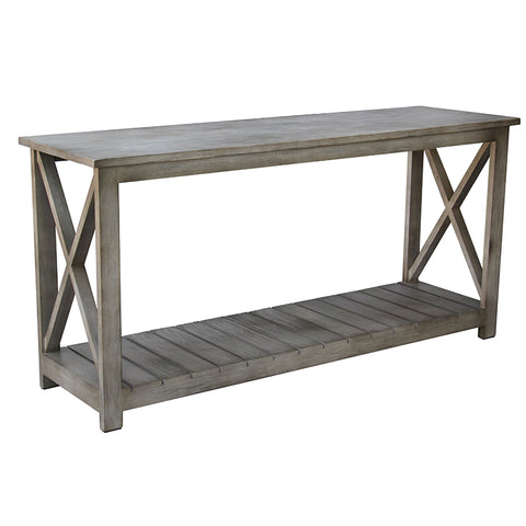 Manyara French Country Chic Cross Console Table