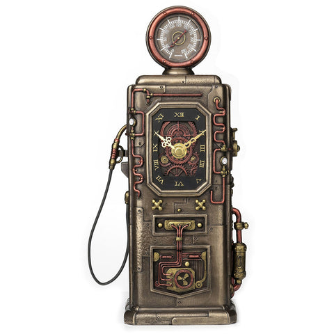 Petrol Pump Clock Steampunk Ornament