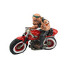 Cheeky Biker Pulling Fingers Ornament