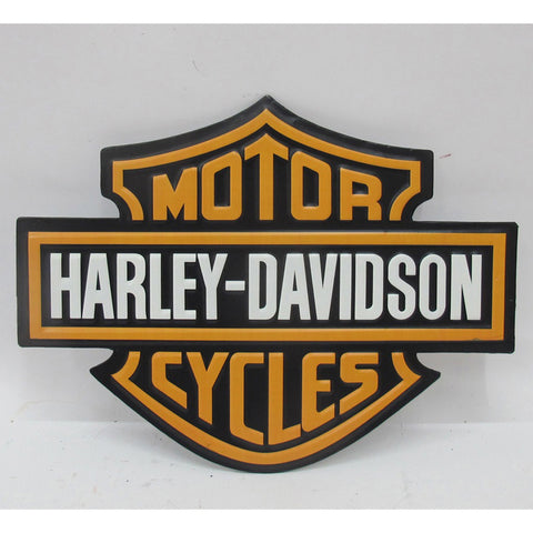 Harley Davidson Motorcycles Nostalgia Logo Motorbike Lovers Wall Art Sign - Home of Temptations Interior Design Furniture Decor & Gifts http://www.hotdesign.co.nz