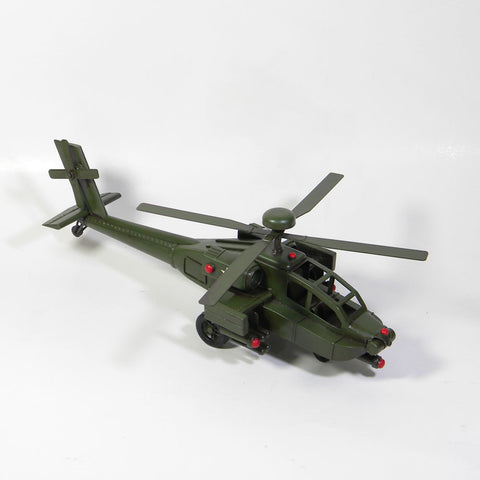 Army Helicopter Model Replica Ornament