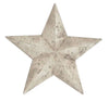 Terracotta Star Shabby Chic Indoor Or Outdoor Garden Ornament (Small)