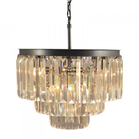 Vintage Deco Crystal Floor Chandelier Light - Home of Temptations Interior Design Furniture Decor & Gifts http://www.hotdesign.co.nz
