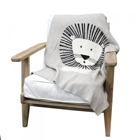 I Am a Lion Cotton Nursery / Lounge / Bed Throw