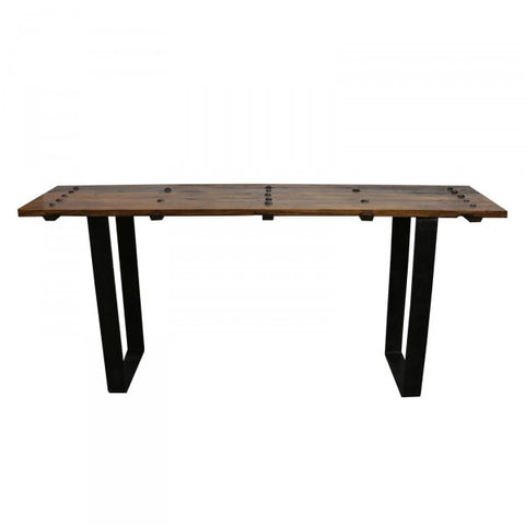 Caracas Rustic Wood Console Table / Hall Table