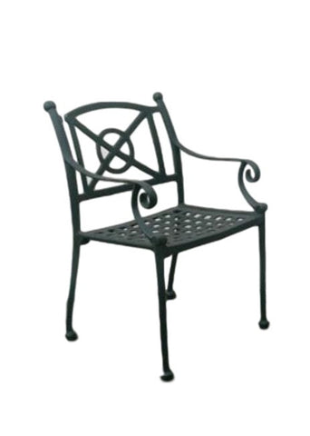 Santorini Dining Chair Cast Aluminium - Last A Lifetime
