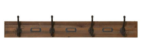 Carter French Rustic Industrial Style Coat Rack