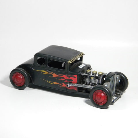 Black Coupe Hot Rod Vintage Style - Perfect Gift!