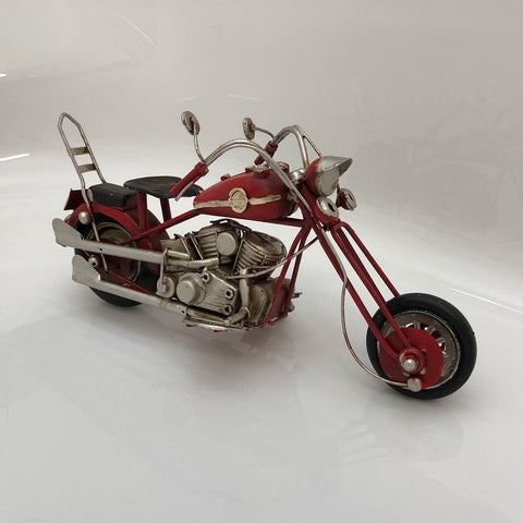 Rustic Motorbike Vintage Styled Model Replica Ornament - Home of Temptations Interior Design Furniture Decor & Gifts http://www.hotdesign.co.nz